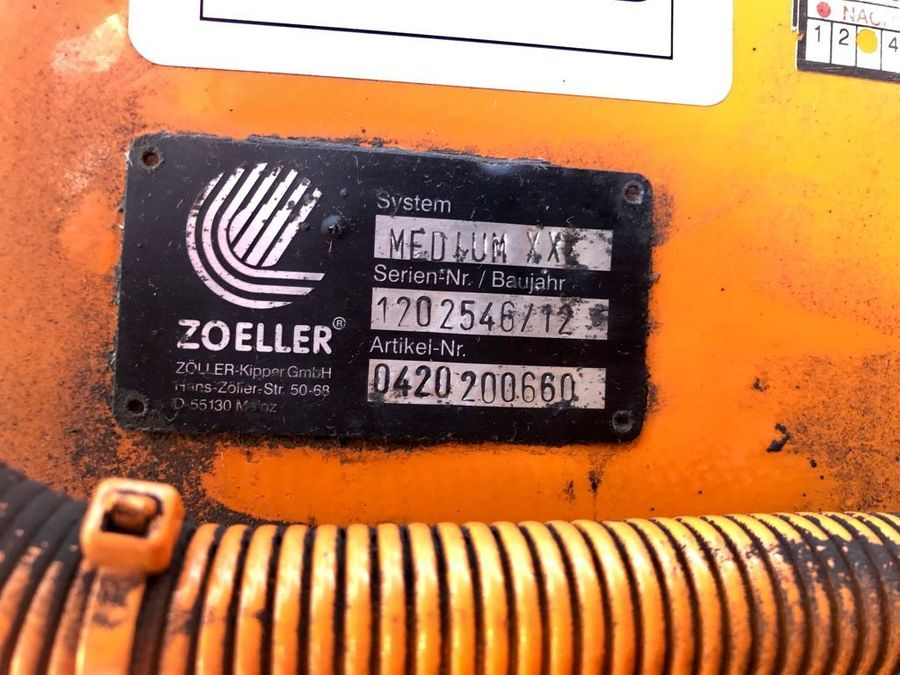 Mercedes-Benz - Actros 2536 ZOELLER Müllwagen 23