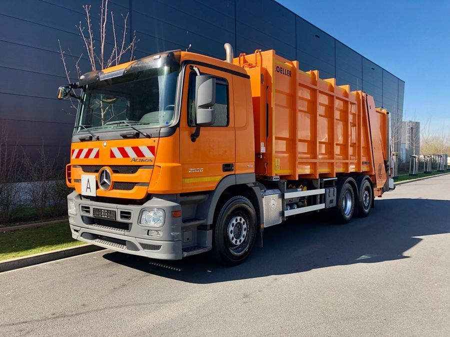 Mercedes-Benz - Actros 2536 ZOELLER Müllwagen 1