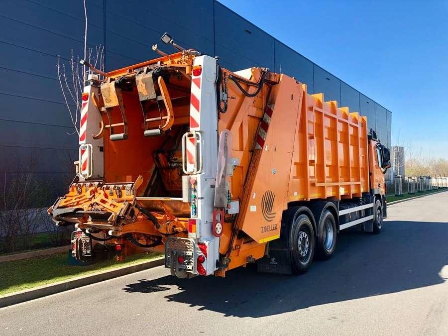 Mercedes-Benz - Actros 2536 ZOELLER Müllwagen 7