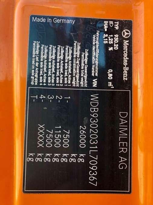 Mercedes-Benz - Actros 2536 ZOELLER Müllwagen 26
