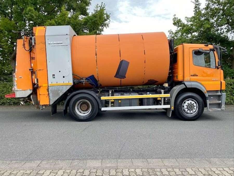 Mercedes-Benz - AXOR 1833 L Müllwagen FAUN ROTCPRESS 516 4