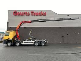 containersysteem vrachtwagen Mercedes-Benz AROCS 3745 L 8X4 PALFINGER PK 33002-EH-6 + PALFINGER HAAKARMSYTEEM NEW !!! 2021