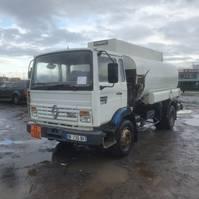 tankwagen vrachtwagen Renault Midliner M160 1990