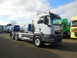 containersysteem vrachtwagen MAN TGS 26.440 6x4 MANUAL LUFT / LUFT RETARDER haakarm 2011