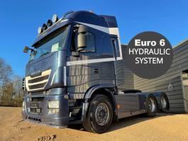 standaard trekker Iveco Stralis 560 6x2 hydr. system 2016