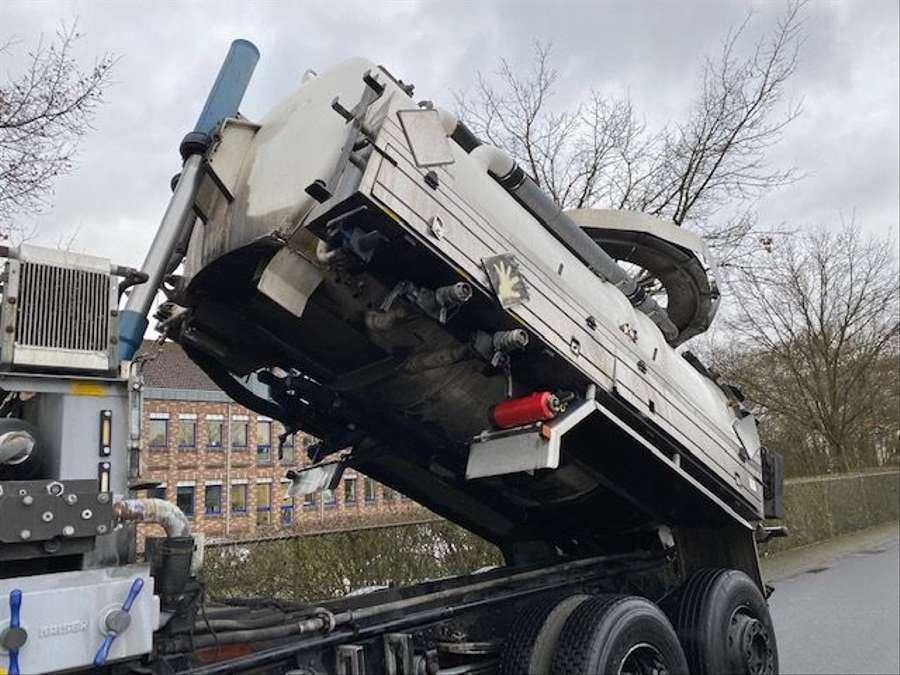 Mercedes-Benz - SK 1844 L 6x2 Tollense 10000 ltr Saugwagen Kanalreinigung/Kipper 8