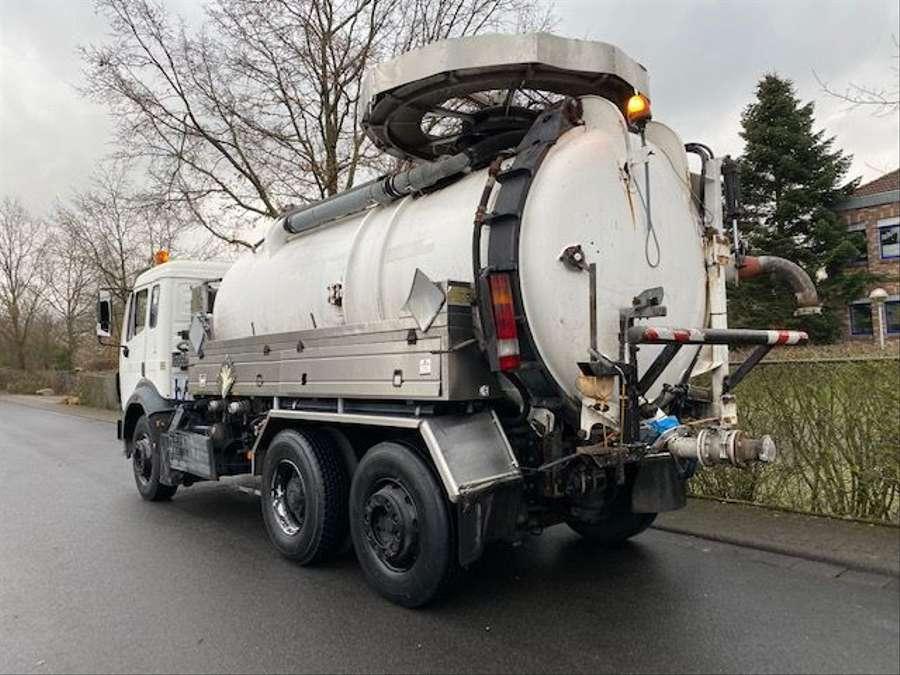 Mercedes-Benz - SK 1844 L 6x2 Tollense 10000 ltr Saugwagen Kanalreinigung/Kipper 4