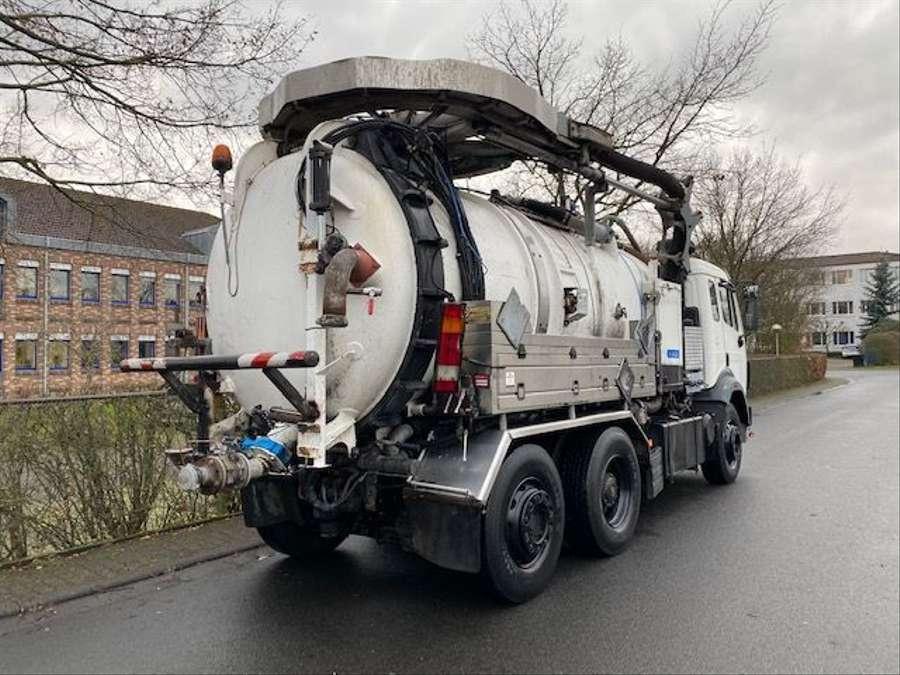 Mercedes-Benz - SK 1844 L 6x2 Tollense 10000 ltr Saugwagen Kanalreinigung/Kipper 3