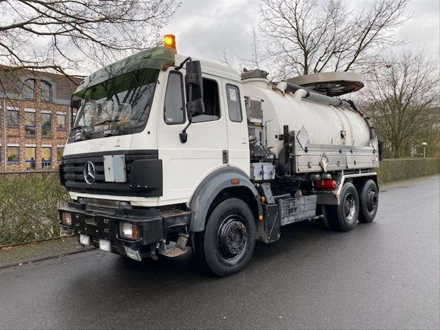 Mercedes-Benz - SK 1844 L 6x2 Tollense 10000 ltr Saugwagen Kanalreinigung/Kipper 1