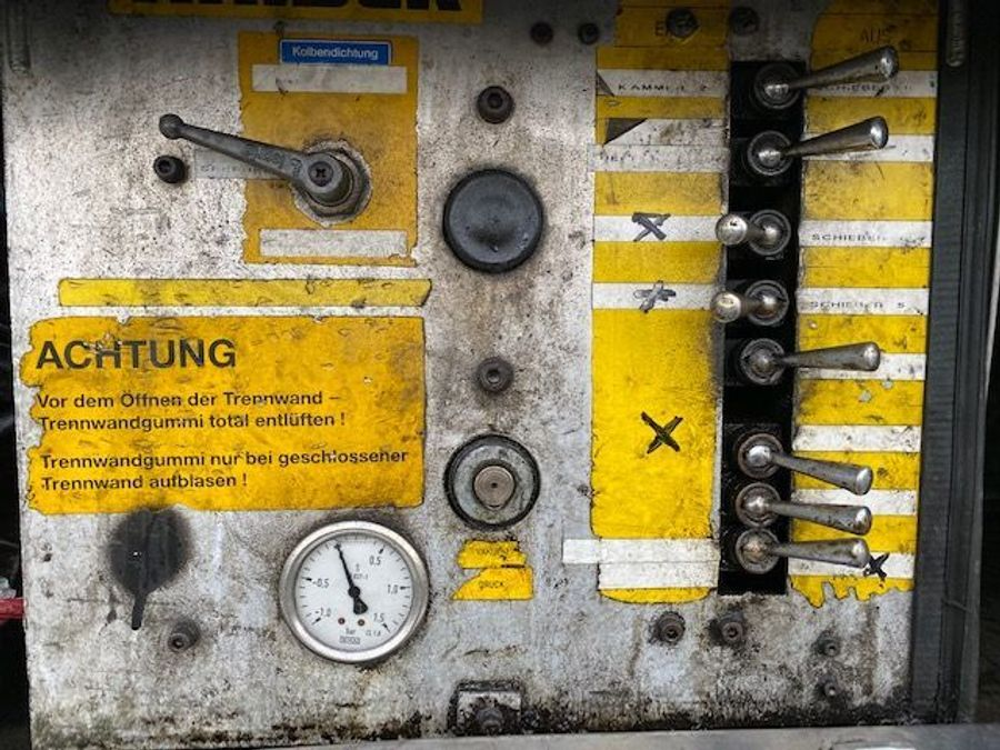 Mercedes-Benz - SK 1844 L 6x2 Tollense 10000 ltr Saugwagen Kanalreinigung/Kipper 20