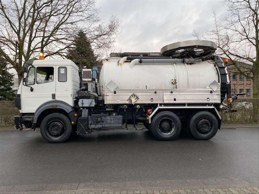 Mercedes-Benz - SK 1844 L 6x2 Tollense 10000 ltr Saugwagen Kanalreinigung/Kipper 5