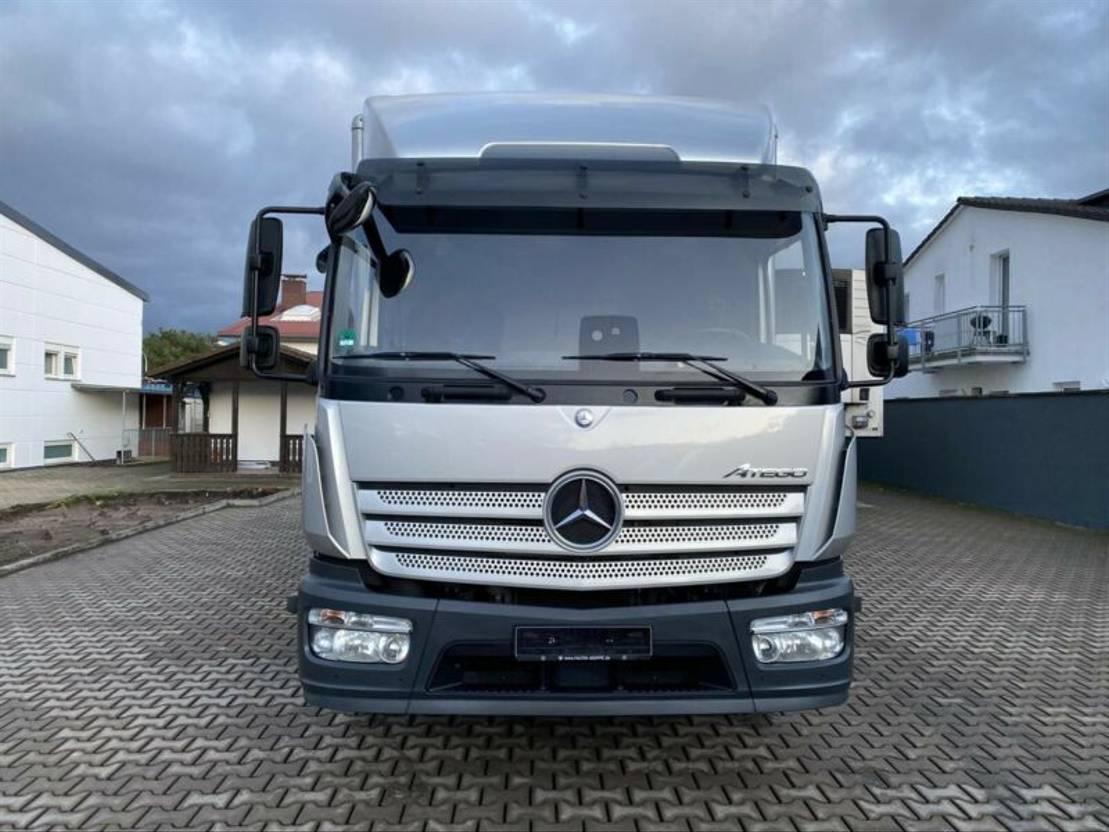 bakwagen vrachtwagen Mercedes-Benz 1227 Atego |KOFFER|E6 | LBW |Safety | 1A |SILBER 2016