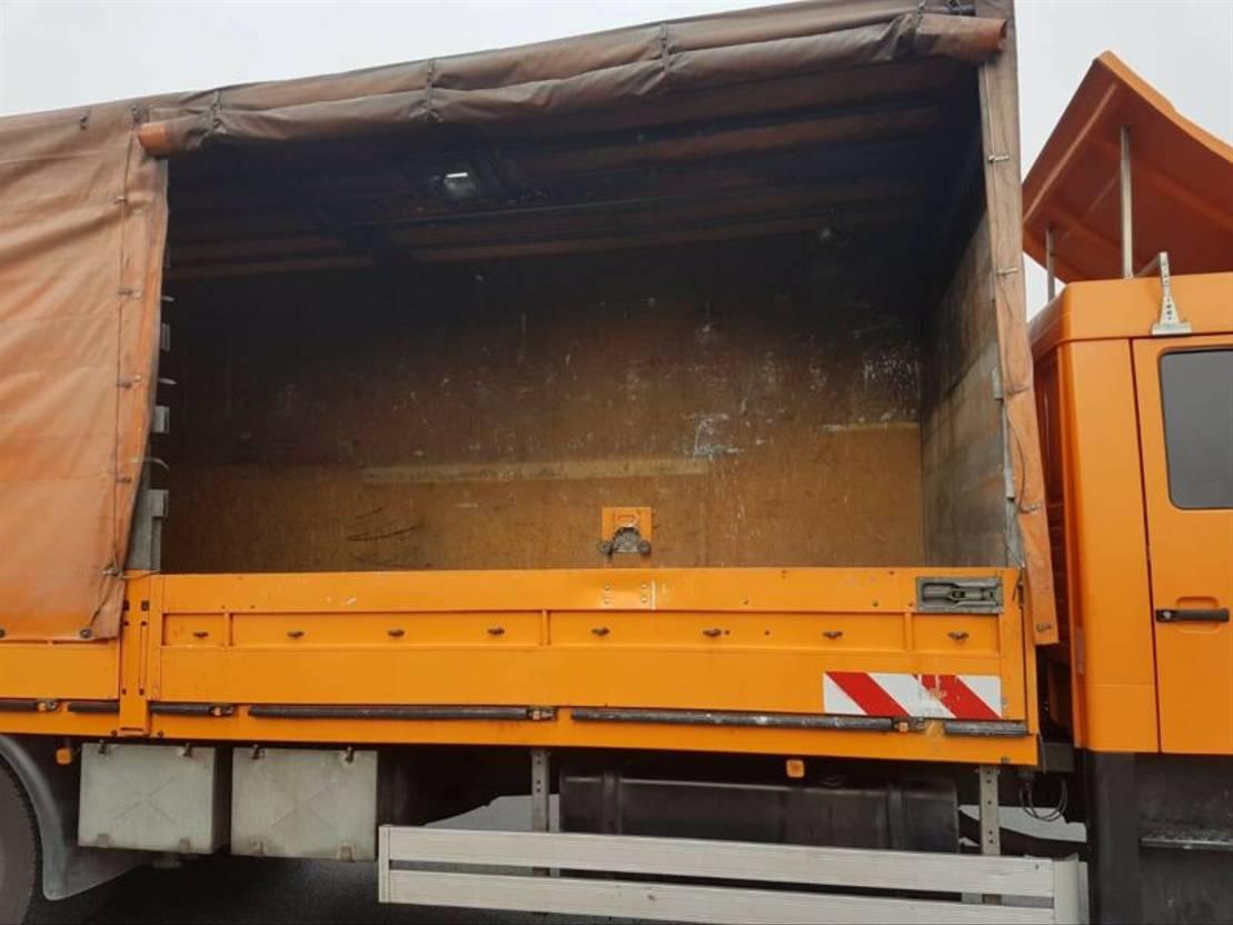schuifzeil vrachtwagen MAN 18  DOKA  PLANE LBW KOMMUNAL 2006