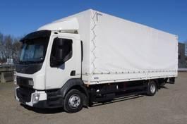 huifzeil vrachtwagen Volvo FL 210-12 - 4x2 - EURO 6 - 115.357  KM - LAADBAK 7,20 M + KLEP - PERFECTE STAAT