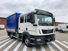 huifzeil vrachtwagen MAN TGL 12.190 , E6 , 0 km , 2020 , NEW , DOKKA cab , 3 UNITS 2020