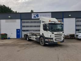 containersysteem vrachtwagen Scania P380 6x2 haakarmsysteem NIEUWE APK 2007