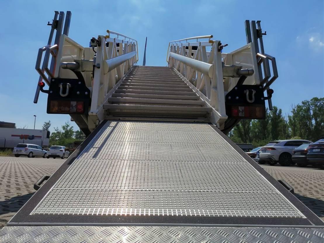 brandweerwagen vrachtwagen MAN FE 27.410 /6x6 / Rettungstreppe 2004