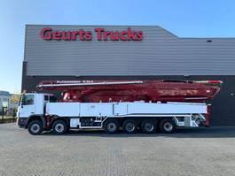 betonpomp vrachtwagen Mercedes-Benz 6560 ACTROS 12X6 WITH 62 METER PUTZMEISTER CONCREET PUMP 2010