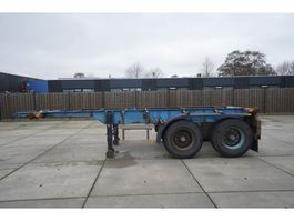 container chassis oplegger Netam-Fruehauf 2 AXLE 20FT CONTAINER TRAILER 1996