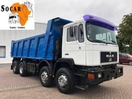 kipper vrachtwagen > 7.5 t MAN 41.372  (6 cilinder) 8x4  FULL STEEL 1995