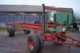 platte aanhanger vrachtwagen 2-assige aanhangwagen