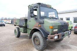 open laadbak bedrijfswagen Unimog U 1300 L 435 4X4 2t KLIMA *-OLDTIMER-* AHK 1986