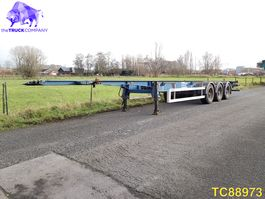 container chassis oplegger LAG Container Transport 2011