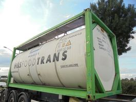 tankcontainer Van Hool 23.000 L / Food / Lebensmittel 2006