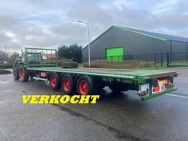 platte aanhanger vrachtwagen Samro AGROLINER mid-triple