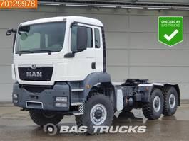 standaard trekker MAN TGS 33.440 6X6 6x6 SingleTyre BigAxle Steelsuspension Euro 5 2019