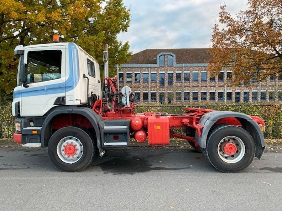 Scania - 124C 420/4X4/ Mit Betonmischer Liebherr 10 m3 Komplettzug 6