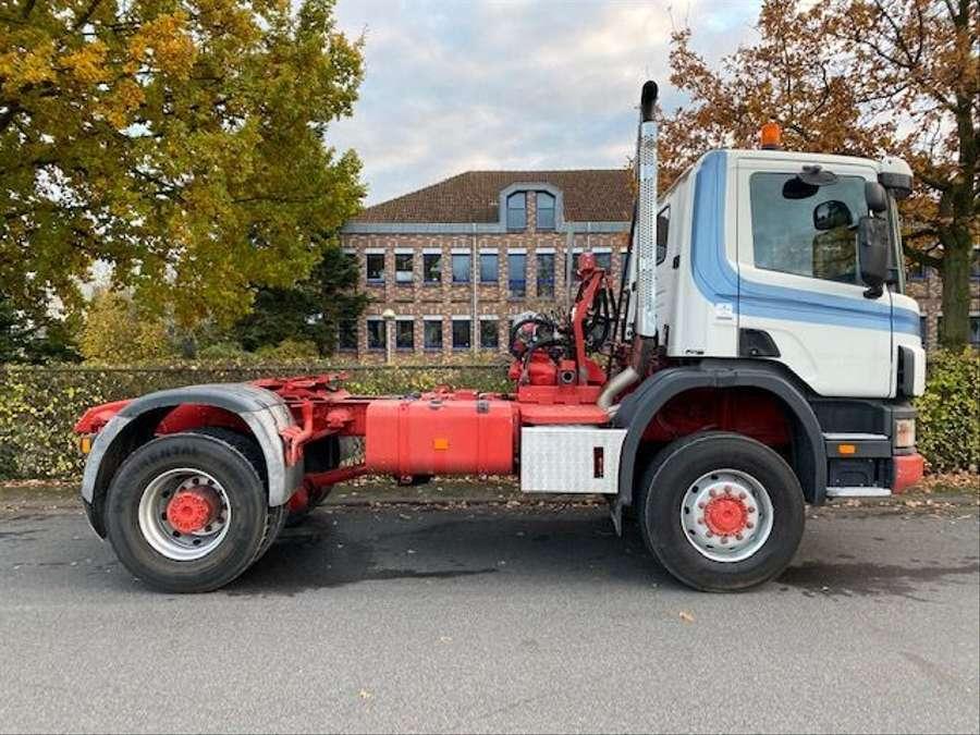 Scania - 124C 420/4X4/ Mit Betonmischer Liebherr 10 m3 Komplettzug 5