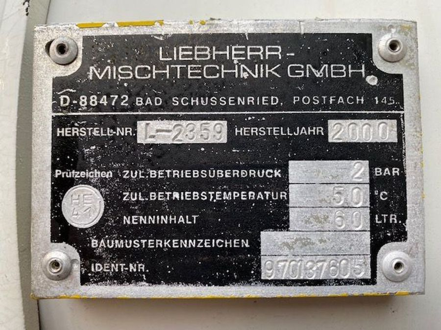 Diversen - Prestel Betonmischer Liebherr 10 m3124C 420/4X4/ Mit Betonmischer Liebherr 10 m3 Komplettzug 18