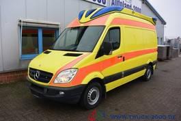 ambulance bedrijfswagen Mercedes-Benz Sprinter 316 CDI RTW Ambulance Mobile Delfis 1.H 2013