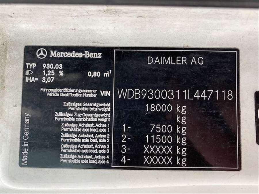 Mercedes-Benz - Actros 1841 Euro 5 Retarder 13000 Liter 18