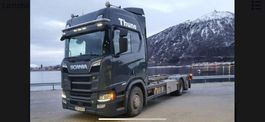wissellaadbaksysteem vrachtwagen Scania Scania R650 BDF system Soon available 2018