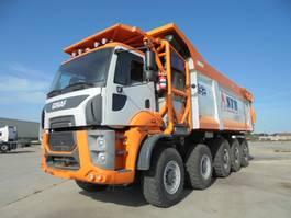 kipper vrachtwagen > 7.5 t Ginaf HD5395TS 10X6 2017