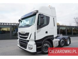 overige trekkers Iveco Stralis 480 , E6 , 6x2/4 , retarder , Hi-Way cab , ACC , pusher 2018