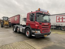 standaard trekker Scania P 380 A 6X2/4 - OPTICRUISE - 3 PEDALS - HOLLAND TRUCK 2008
