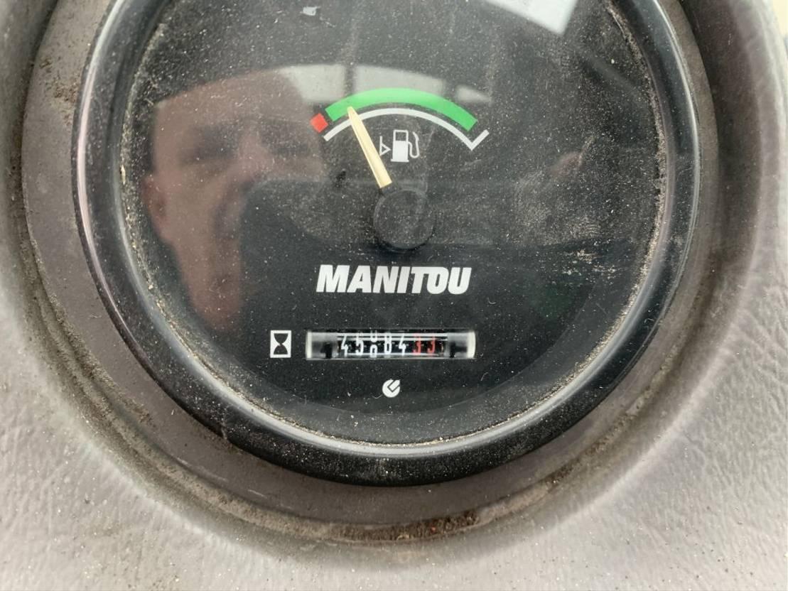 vorkheftruck Manitou Manitou msi35t 400cm hefhoogte side shift 2015