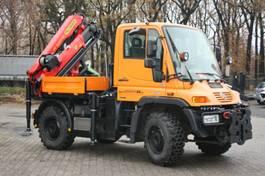 kraanwagen Unimog U 300 mit Kran PK 9002 EH-C