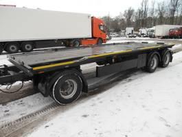 container chassis aanhanger Reisch RAE-24Z, ABSETZKIPPER 2005