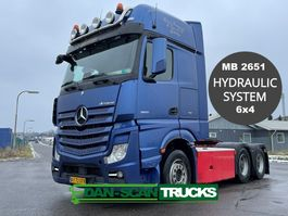 standaard trekker Mercedes-Benz Actros 2651 MB2651 6x4 hydr. system 2016