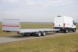 open laadbak aanhanger Veldhuizen 7,8-tons Semi-dieplader aanhangwagen 2021