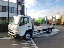 oprij vrachtwagen FUSO Canter TF 9C18/AMT/3850 / OPRIJWAGEN machinevervoer 2021
