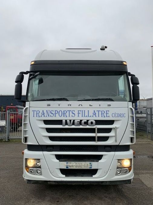 Iveco - STRALIS  AS 460 ECO/ kipper hydraulic/ retarder 5