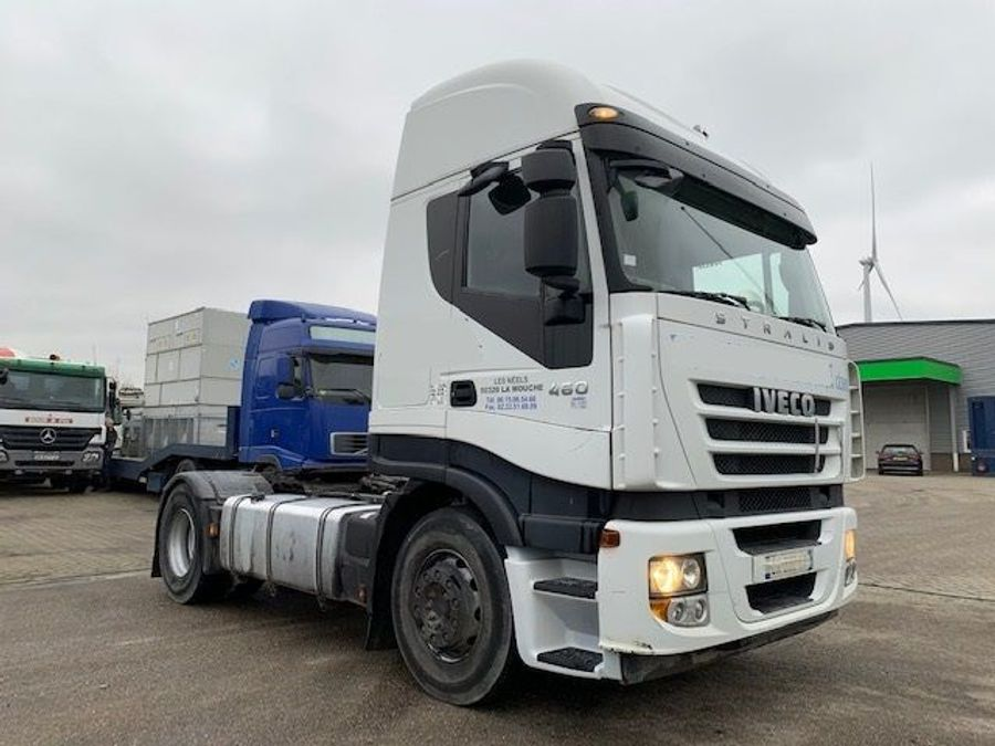 Iveco - STRALIS  AS 460 ECO/ kipper hydraulic/ retarder 1
