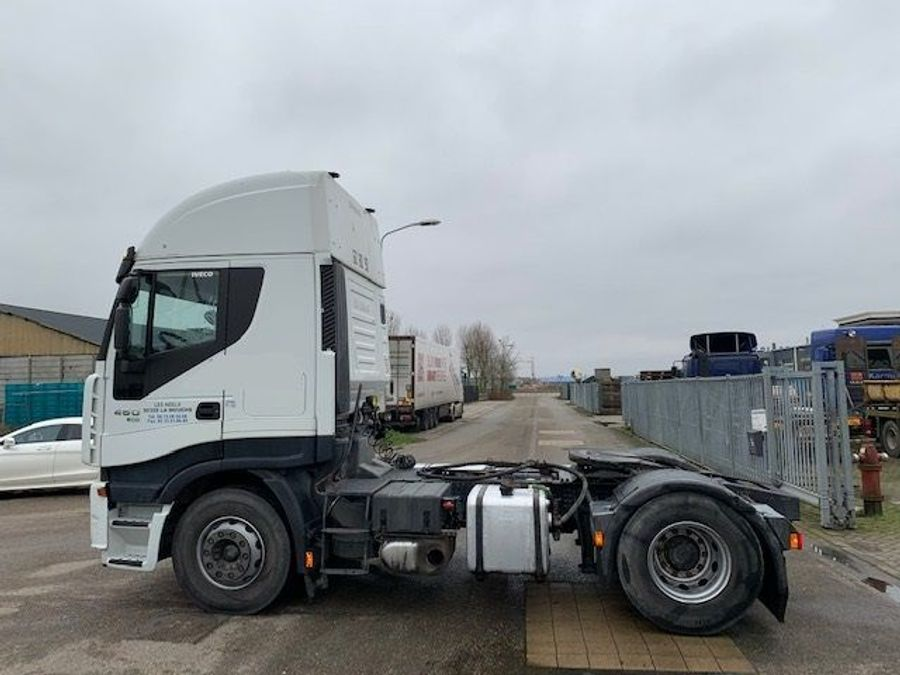 Iveco - STRALIS  AS 460 ECO/ kipper hydraulic/ retarder 4