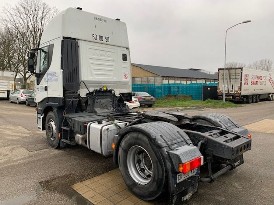 Iveco - STRALIS  AS 460 ECO/ kipper hydraulic/ retarder 8