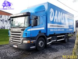 bakwagen vrachtwagen Scania P230 Euro 5 2011